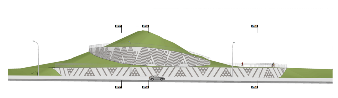 Final Design - Retainer Wall near Tuku Rakau